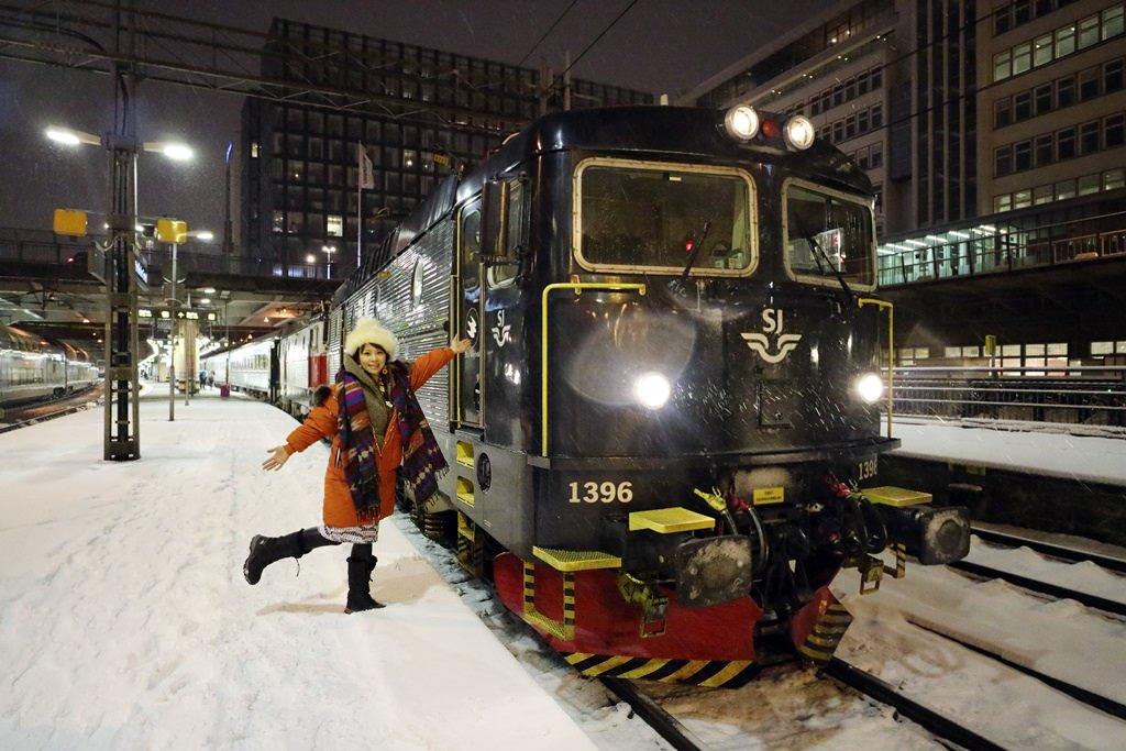 北歐火車旅行||搭乘北極特快車 前往極光小鎮  瑞典Stockholm To Abisko