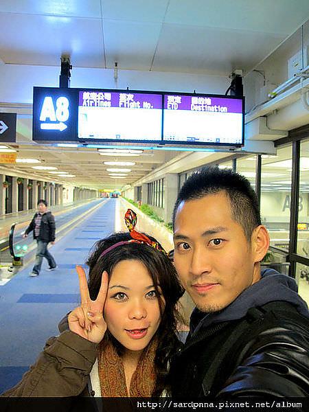 2011-1-17-關島@桃園機場出發到關島 (9)