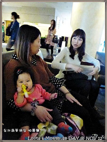 {台北 下午茶} 晶華酒店 柏麗廳, 推著嬰兒車享受貴婦下午茶