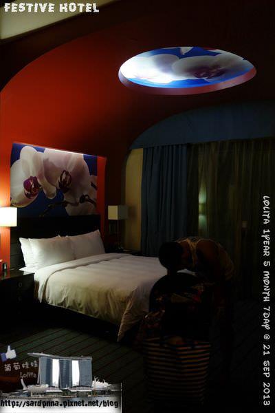 新加坡🔹聖淘沙 名勝世界 節慶飯店 Festive Hotel 雙人標準房