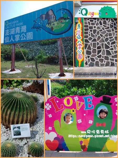 澎湖旅遊-2015新景點||青灣仙人掌公園 國內外四百多種仙人掌  結束營業