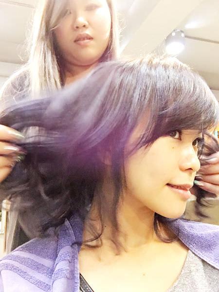 淡水美髮沙龍|| 99%HAIR SALON 趕上星空流行 頭髮染得很漂亮