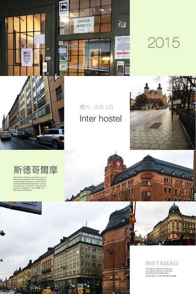 STOCKHOLM 🔸 INTER HOSTEL 英特爾背包旅社 不用1000,一個床位,我的冒險開始!