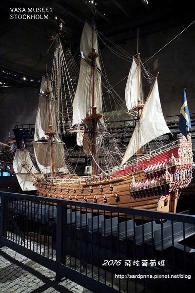 瑞典 斯德哥爾摩🔸 Vasa museet 瓦薩沈船博物館 十七世紀軍艦