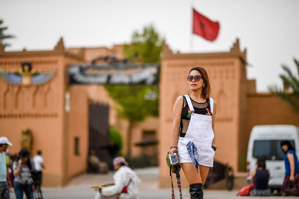摩洛哥🔹自己申請簽證 入境  依靠貴人進入北非