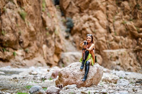 2017摩洛哥奇幻旅程xDAY 2||終於搭上駱駝 踏進撒哈拉沙漠  在沙漠邊游泳 沙漠豪華帳篷 洗澡廁所都不是難事